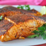 Spicy and Sweet Blackened Salmon Recipe