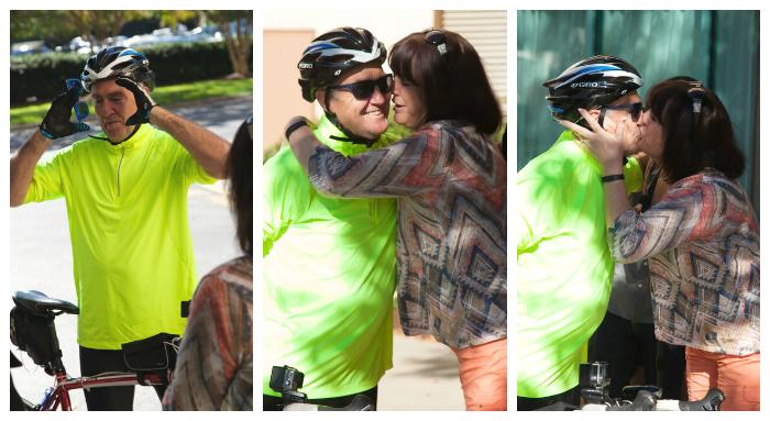 Bike Ride - Bill's Arrival
