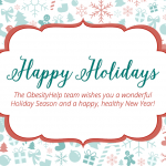 Happy Holidays from ObesityHelp