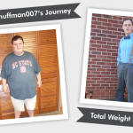 Before and After RNY with phuffman007's 210 Pound Weight Loss!