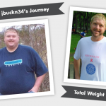 Before & After RNY with jbuckn34's 200 Pound Weight Loss!