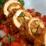 Chicken Chile Relleno Rolls​ Recipe – 30g of Protein!