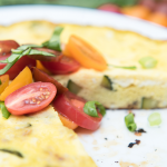Four Ingredient Frittata Recipe – Only 97 Calories!