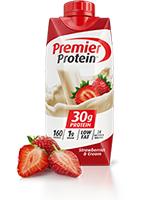 Premier Protein Strawberries & Cream Shake 's Photo