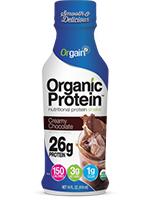 26g Organic Protein Shake - Creamy Chocolate Fudge's Photo