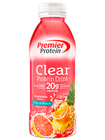 Premier Protein Clear Protein Drink, Tropical Punch's Photo