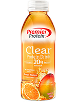 Premier Protein Clear Protein Drink, Orange Mango's Photo