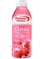 Premier Protein Clear Protein Drink, Raspberry's Photo