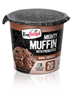 FlapJacked Mighty Muffin With Probiotics, Double Chocolate's Photo