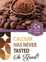 ProCare Health Calcium Dark Chocolate 500 mg Calcium Plus 500 IU Vitamin D's Photo