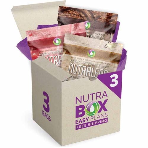 Nutralean Prebiotic Protein Powder Nutrabox Subscription