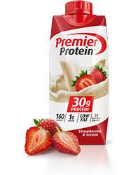 Premier Protein Strawberry Shake 11oz Bottle