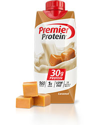 Premier Protein Caramel Shake 11oz Bottle