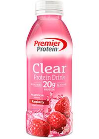 Premier Protein Clear Protein Drink, Raspberry