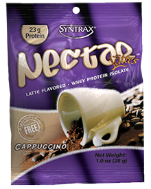 Syntrax Nectar Lattes Whey Protein Isolate, Cappuccino