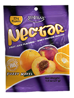 Syntrax Nectar Lattes Whey Protein Isolate, Fuzzy Navel