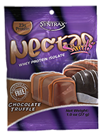 Syntrax Nectar Lattes Whey Protein Isolate, Chocolate Truffle