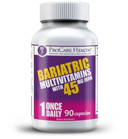 ProCare Health once-a-day Bariatric Multi-Vitamin Capsule 90ct.