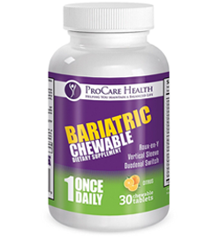 ProCare Health Bariatric Complete Chewable Multi-Vitamin Once Per Day 30ct.