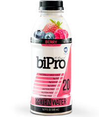 BiPro Protein Water, Berry Burst