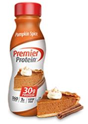 Premier Protein Pumpkin Spice Shake 11.5oz Bottle