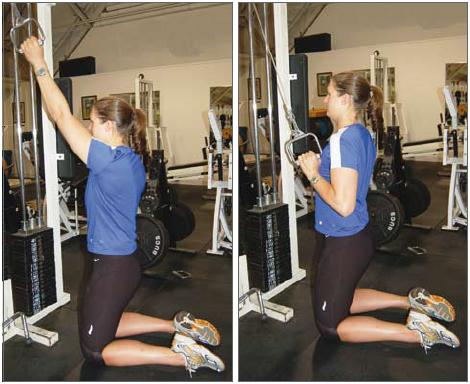Fitness basics pull downs and pull ups for Floor underhand cable fly