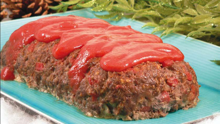 Hungry-man Meatloaf