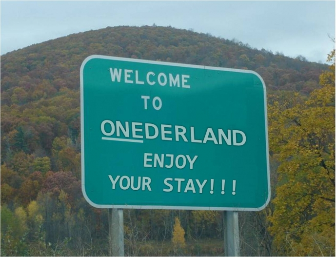Image result for welcome to onederland