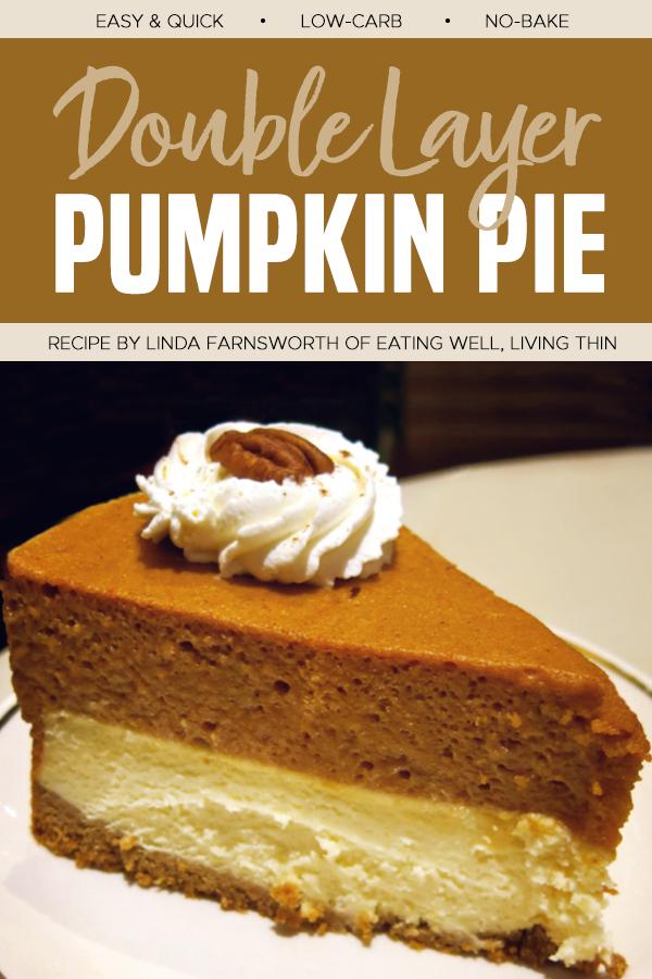 layer pumpkin pie
