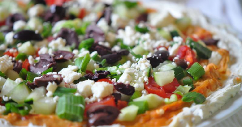 Mediterranean Layered Spread Recipe