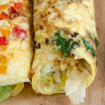 Frittata Roll-Up Recipe – Only 4 Ingredients!