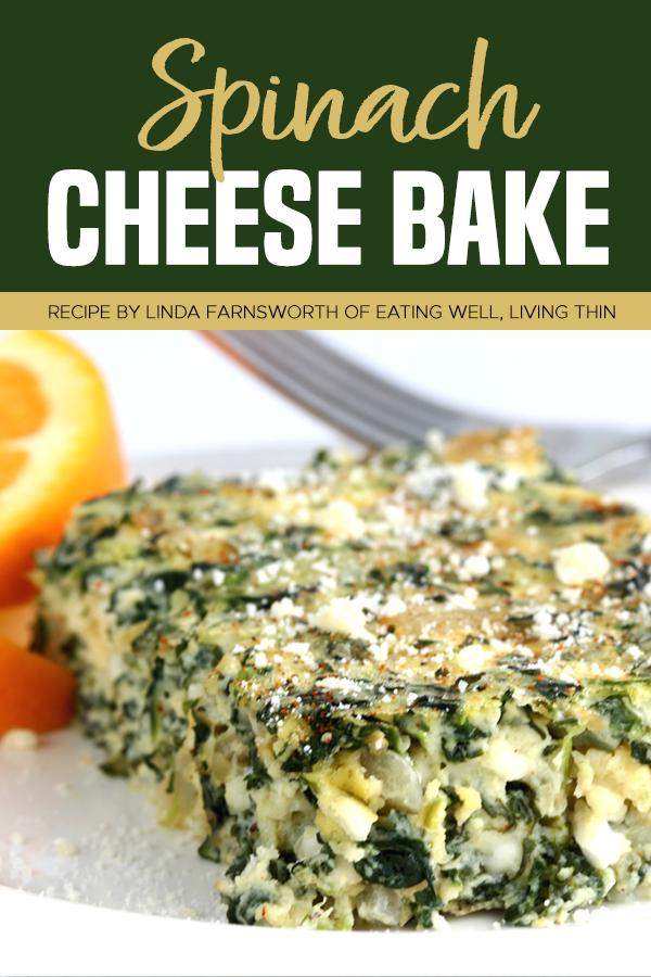 Pinterest spinach cheese bake