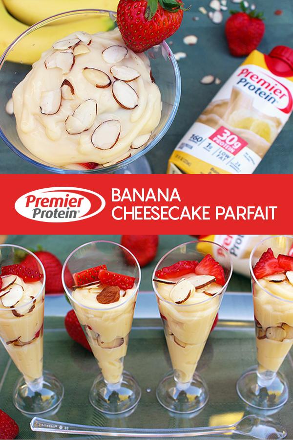 Pinterest Premier Protein Banana Cheesecake Parfait 2