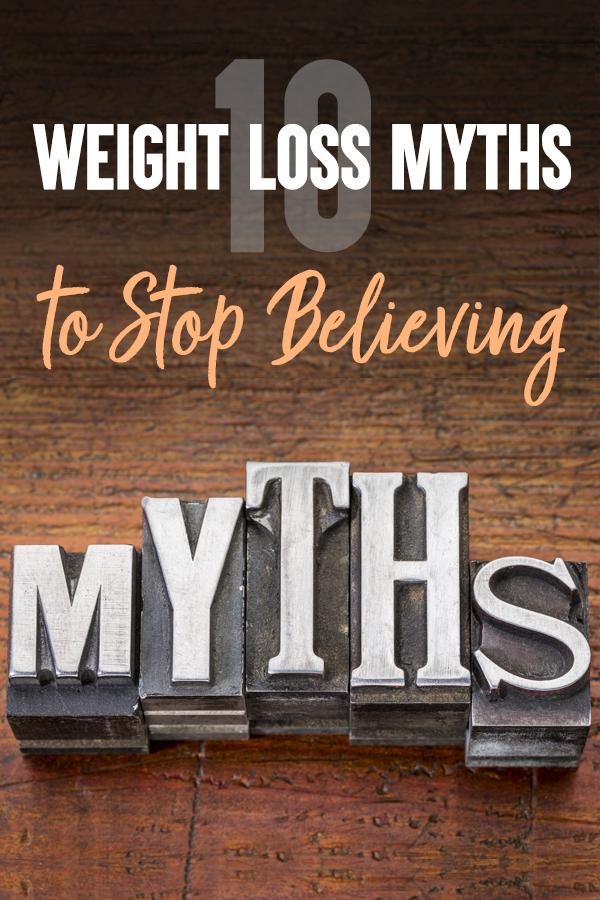 Pinterest Weight Loss Myths