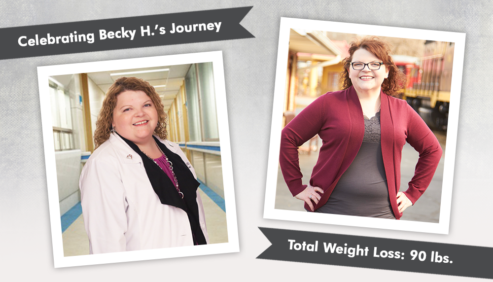 """Before & After Gastric Sleeve with Becky H. as a """"new ..."""