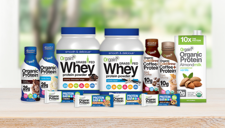 Orgain Protein Giveaway