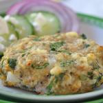 Greek Chicken Burgers Recipe, Under 200 Calories & 28g Protein!