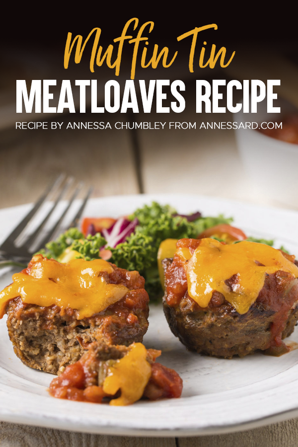 Pinterest Muffin Tin Meatloaves Recipe