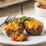 Muffin Tin Meatloaves Recipe: Quick, Freezable & 166 Calories (+ Video)!