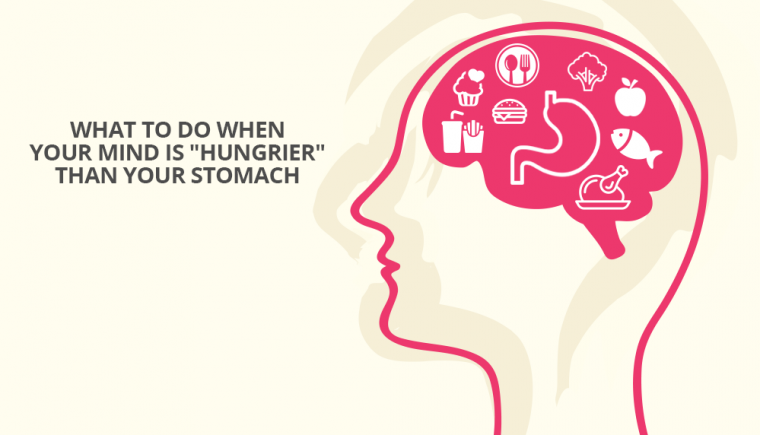 mind is hungrier than your stomach