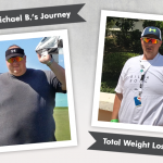 Before & After VSG with Michael B., losing 188lbs!