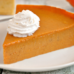 Crustless Protein Pumpkin Pie Recipe: 84 Calories & WLS-Friendly!