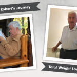 Before & After VSG with Robert, losing 121 pounds!