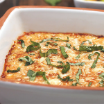 Healthy Lasagna Dip Recipe, only 80 Calories & 8.5g Protein