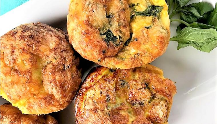 Quiche Lorraine Mini Muffins 1