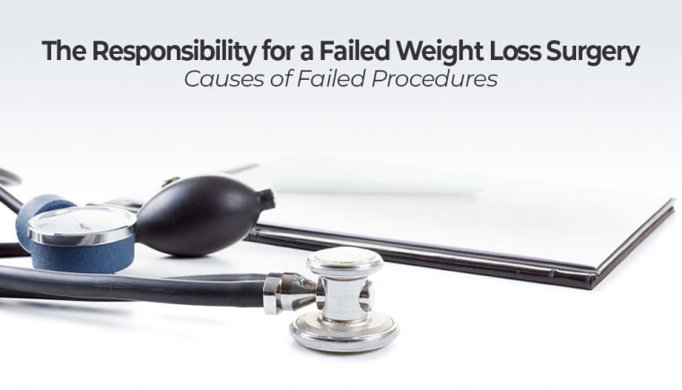 failed weight loss surgery