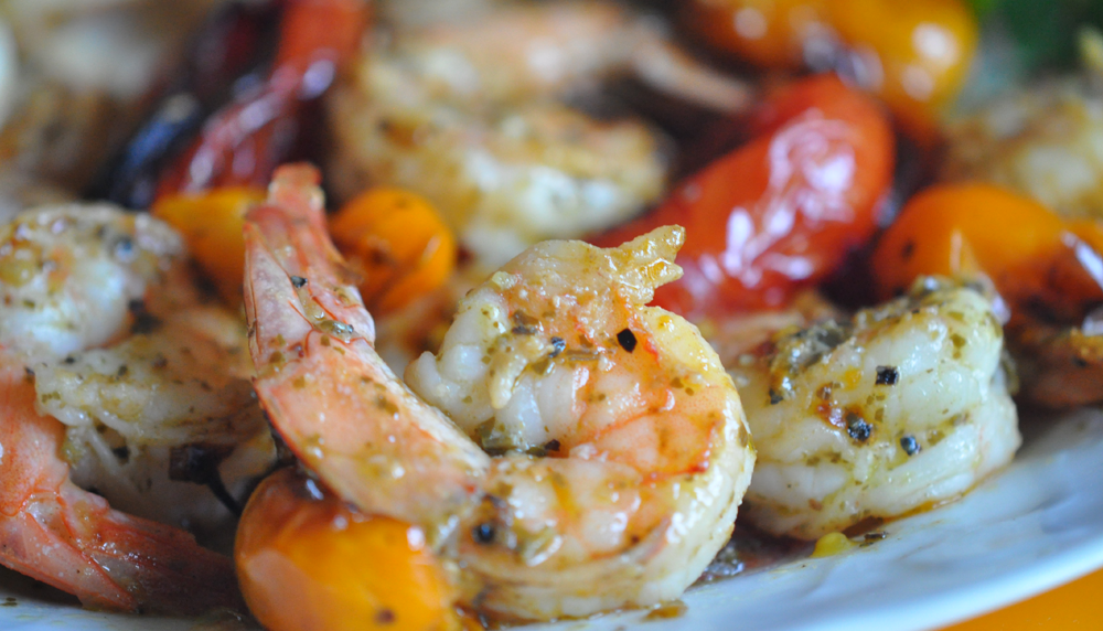 Pesto Shrimp Recipe