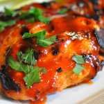Honey Sriracha Sauce Chicken Thighs, Bariatric-Friendly!