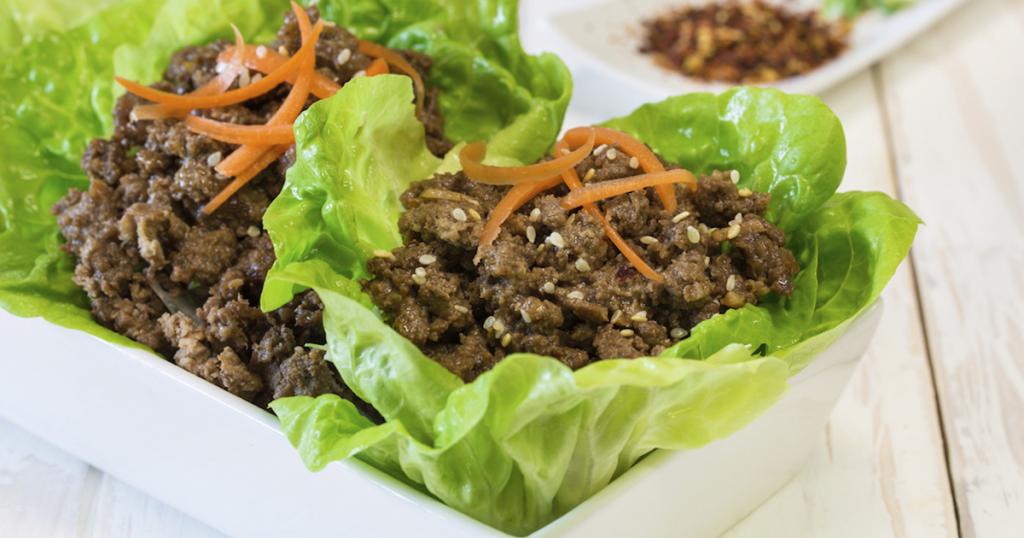 Korean Beef Veggie Bowl