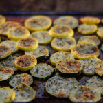 Roasted Zucchini Chips Recipe with 4 Ingredients!